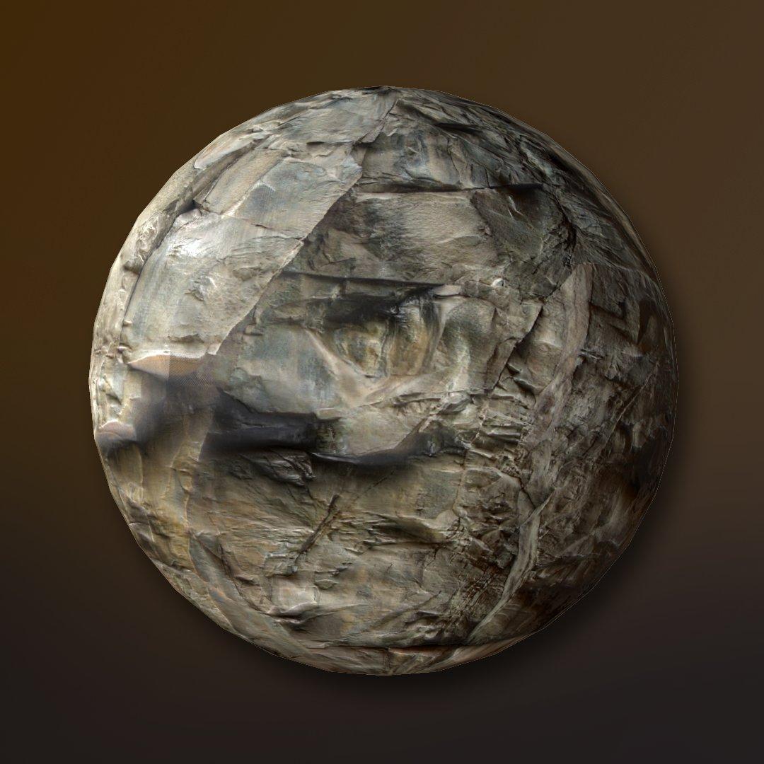 sharp stone