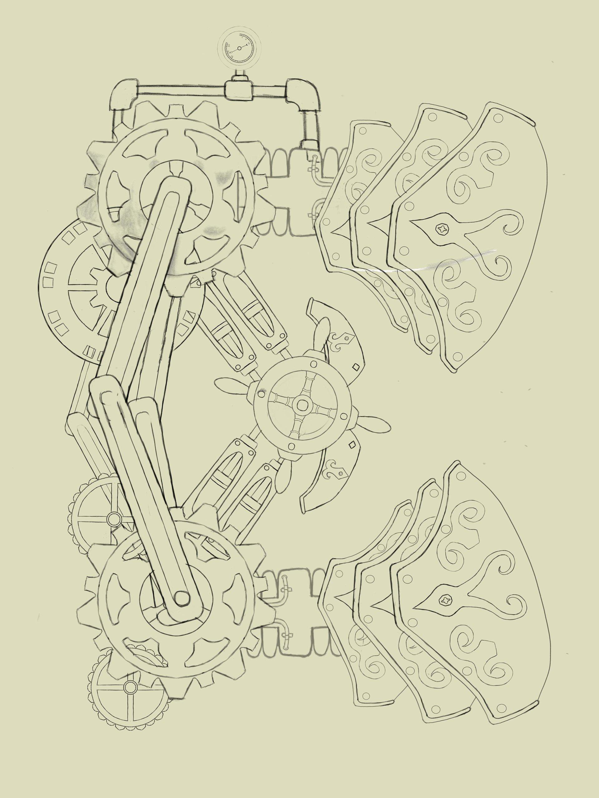 Emanuel pineiro letra steampunk 1