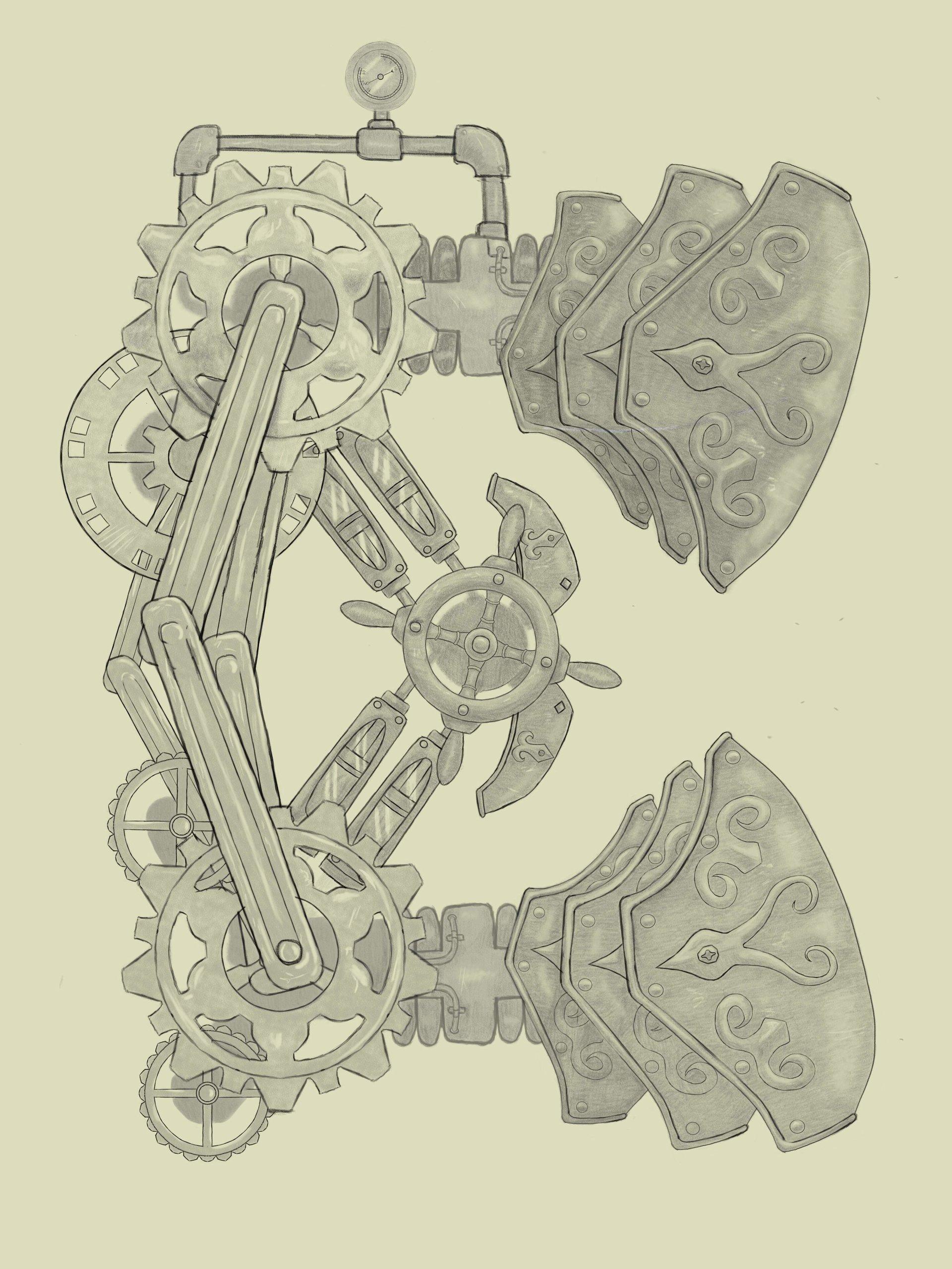 Emanuel pineiro letra steampunk 2