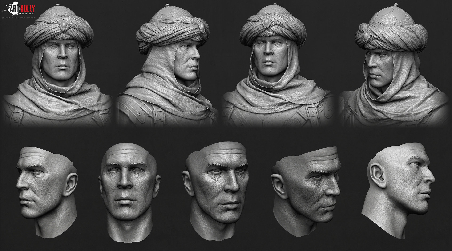 Mashru mishu persian warrior highpoly02