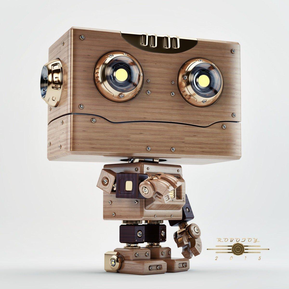Vladislav ociacia robot toy retro 9