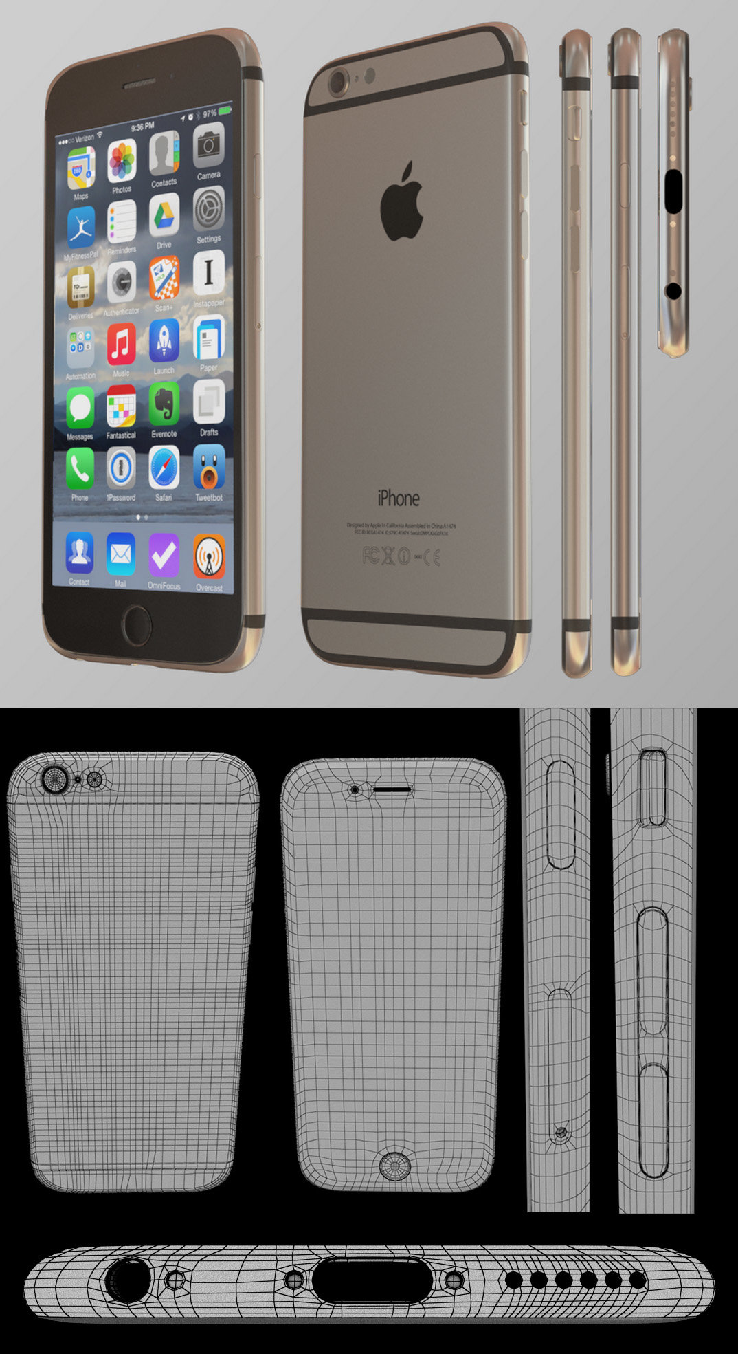 Joachim jensen iphone render