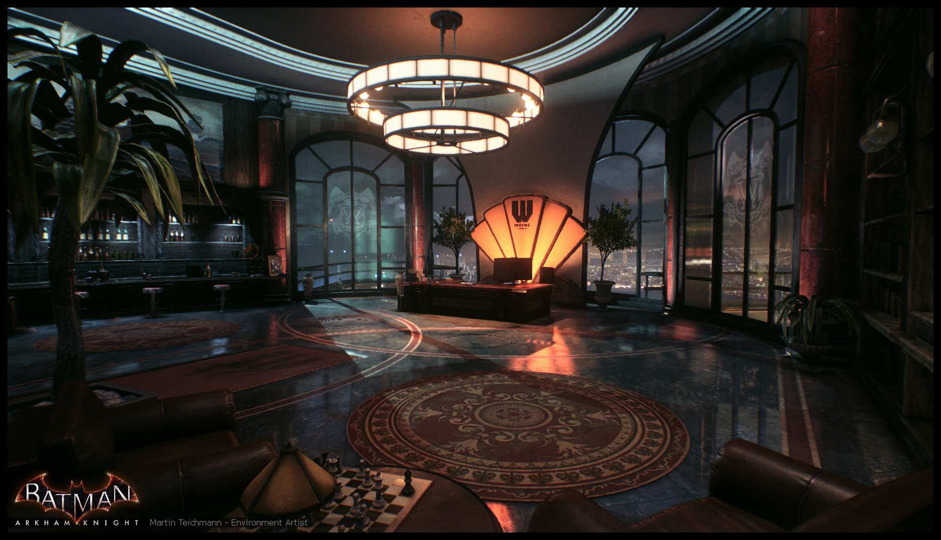 Martin teichmann arkham knight office 03