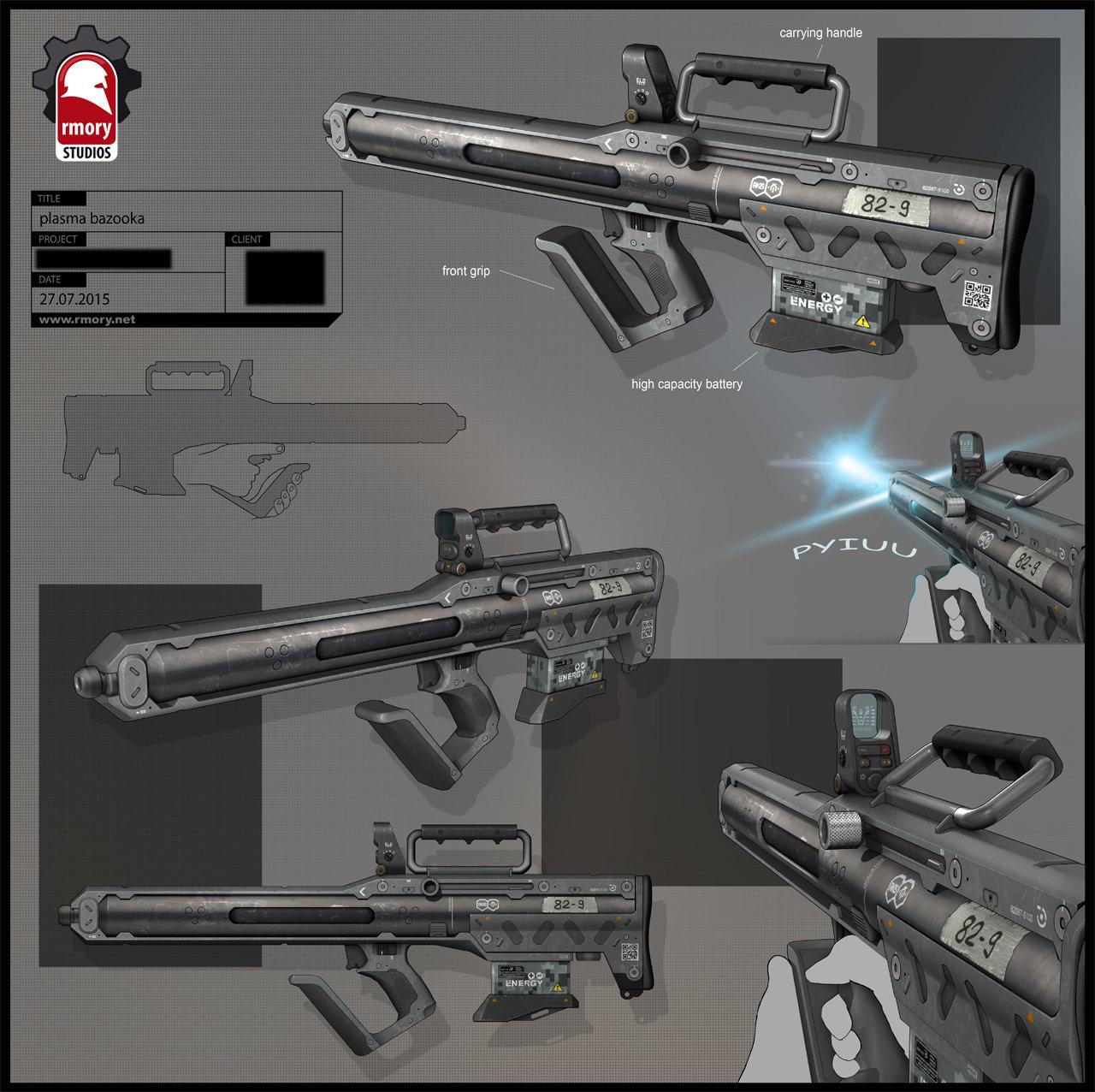 plasma bazooka - rmory studios