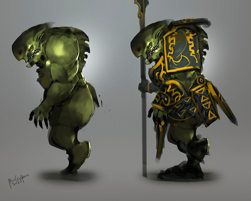 Benedick bana best guardian concept lores