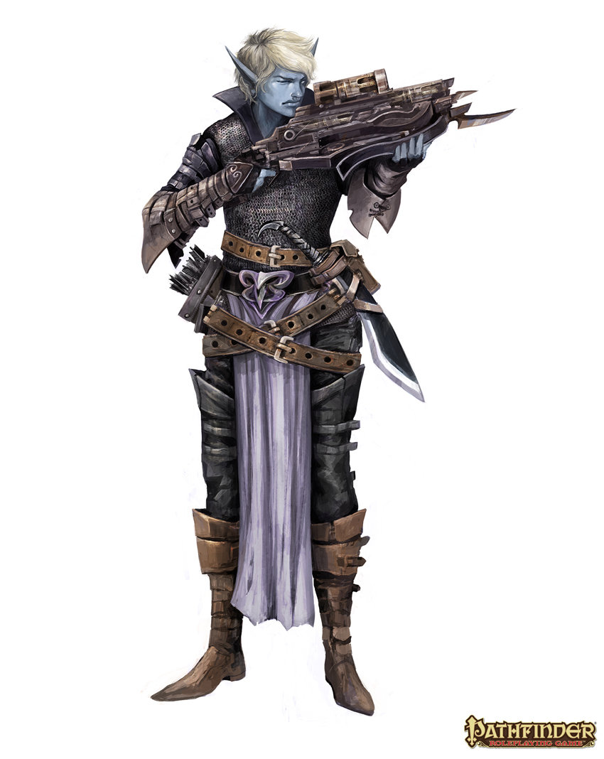 Alexandre Chaudret - Drow Characters - Pathfinder RPG