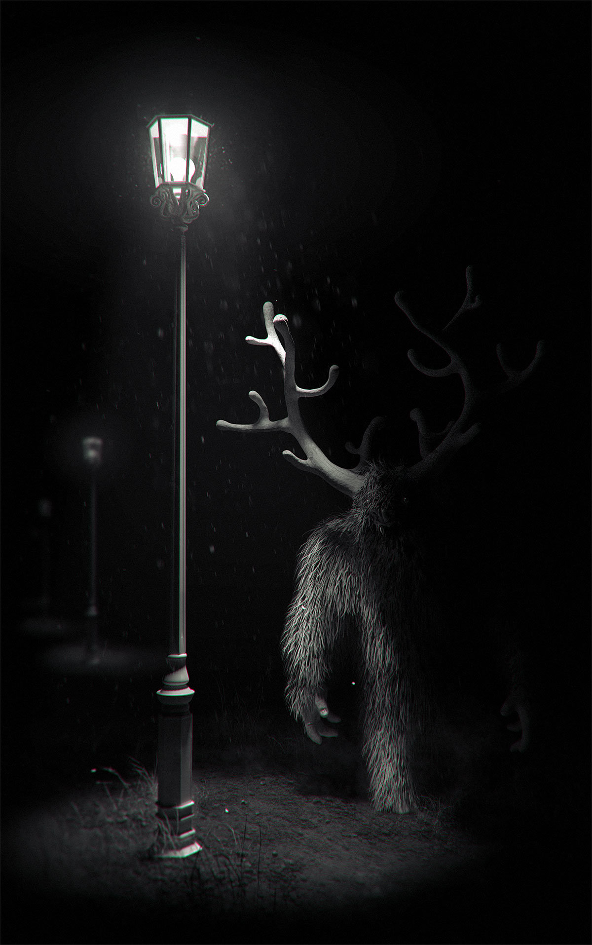 Pablo munoz gomez lost creatures nocturnal horned hox