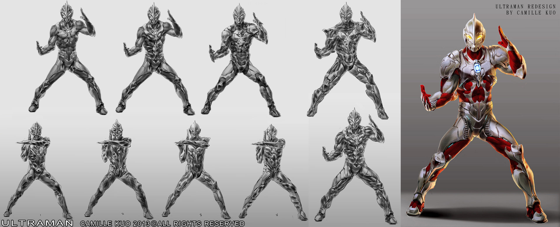 Camille kuo ultraman concept camillekuo