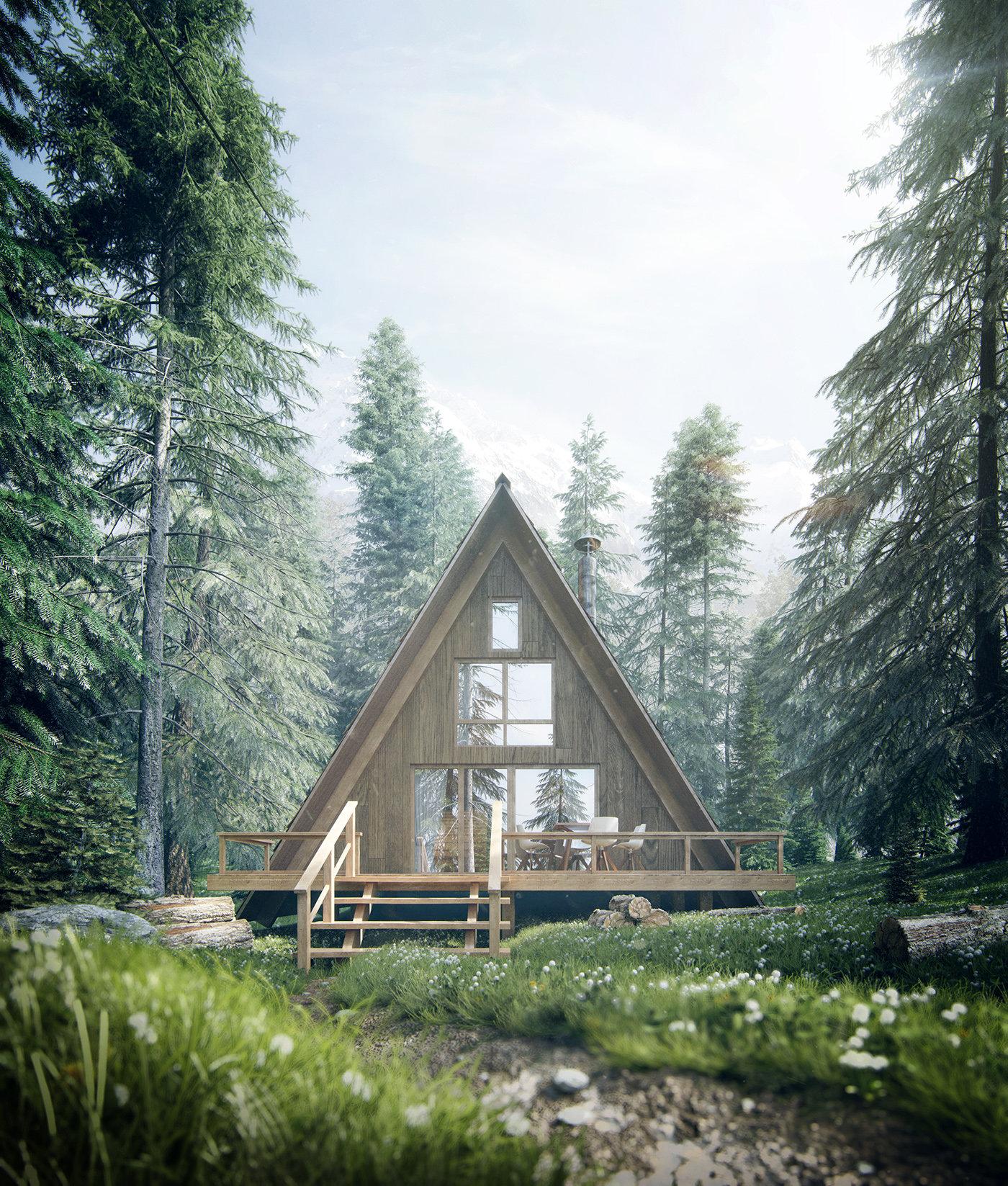 Romuald chaigneau forest house jour vue2 redim