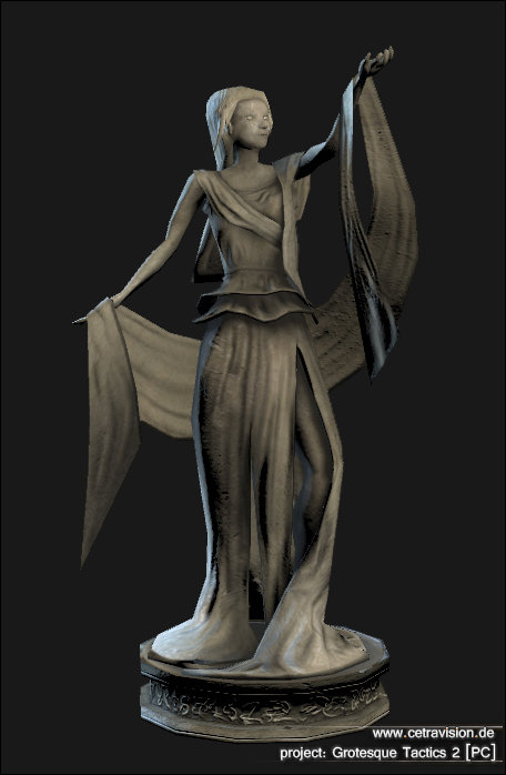 Carina schrom grotesque2 statue