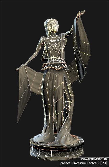 Carina schrom grotesque2 statue wire