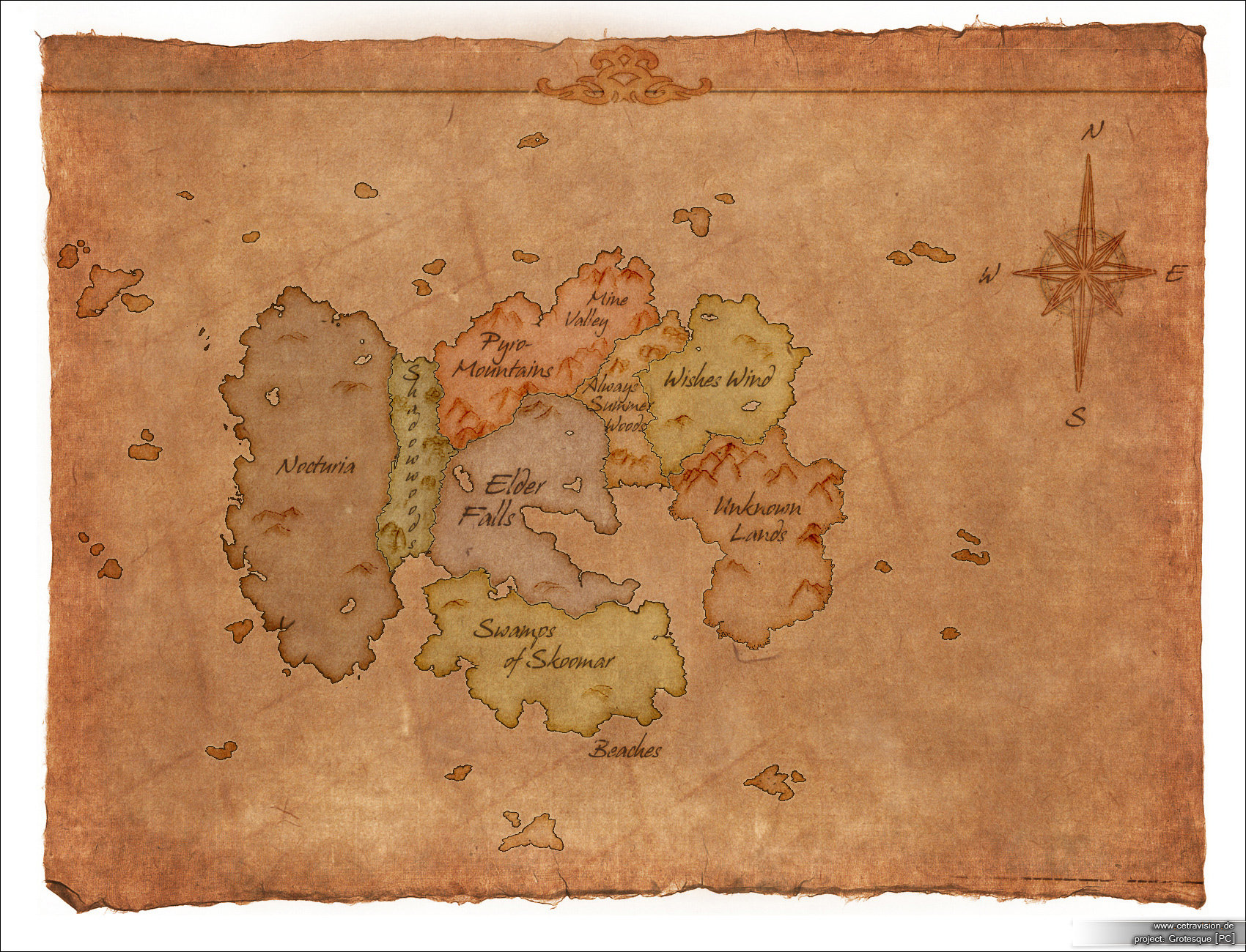 Carina schrom grotesque map