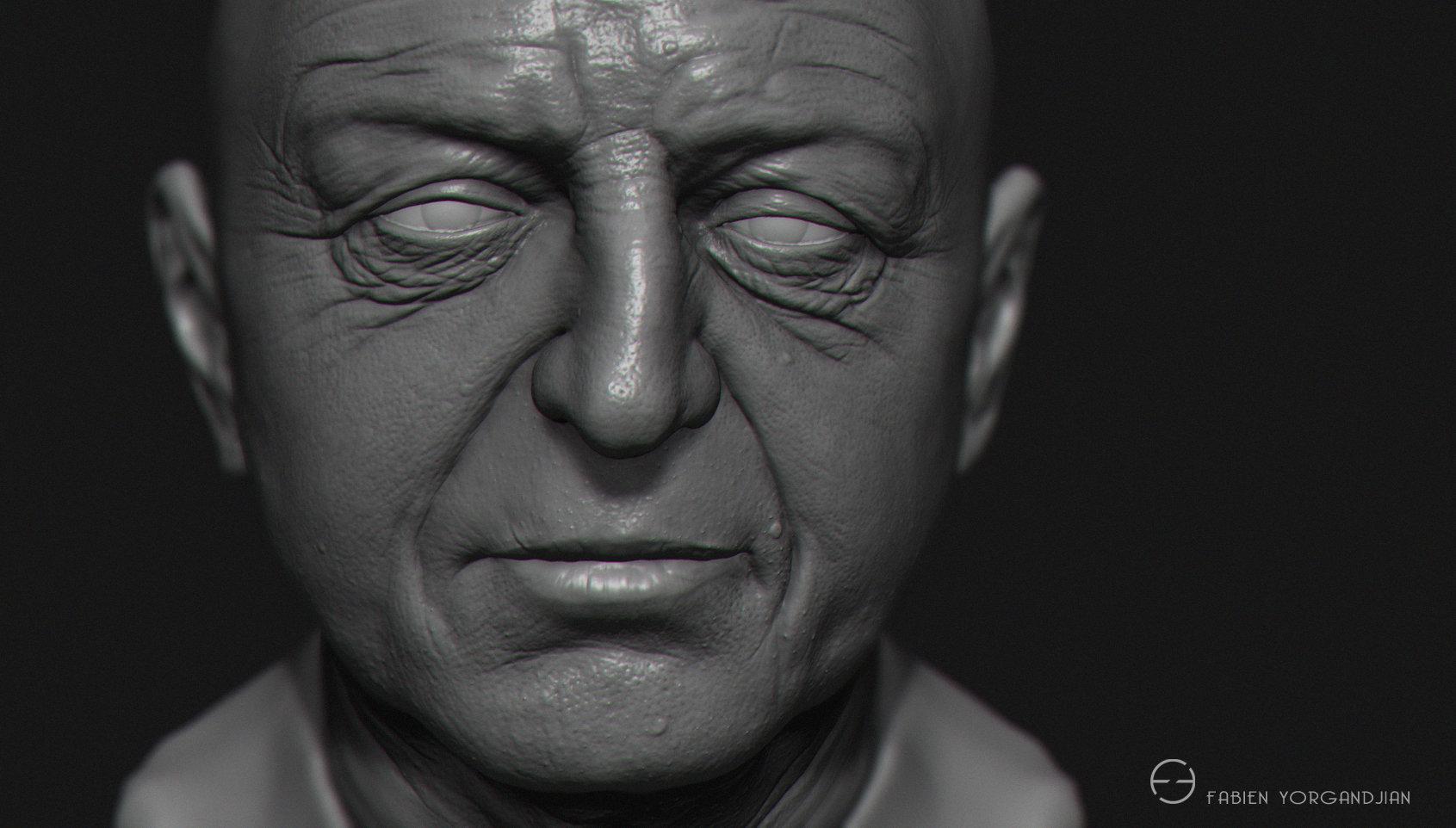 Fabien yorgandjian oldboxer head closeup