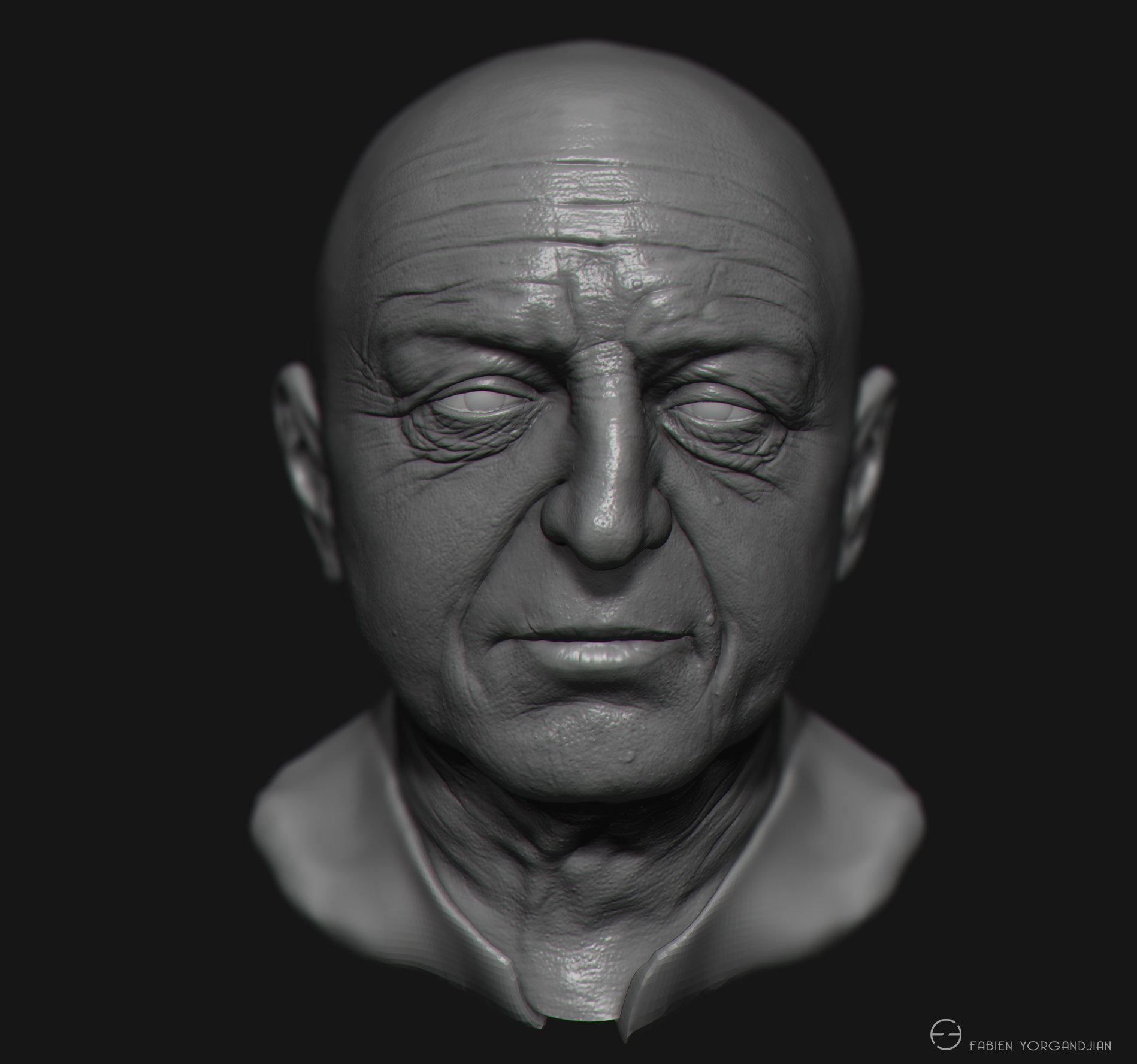 Fabien yorgandjian oldboxer head 03