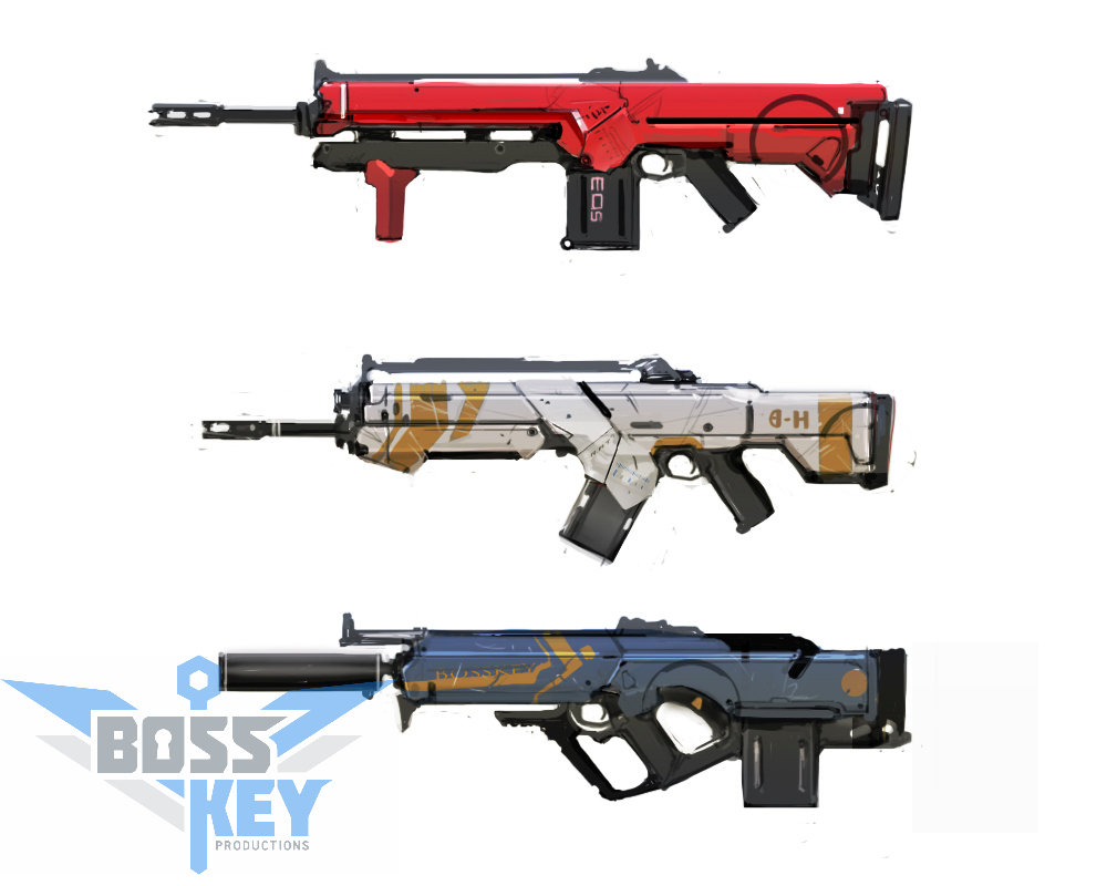 Boss key productions concept art depository aerator first three