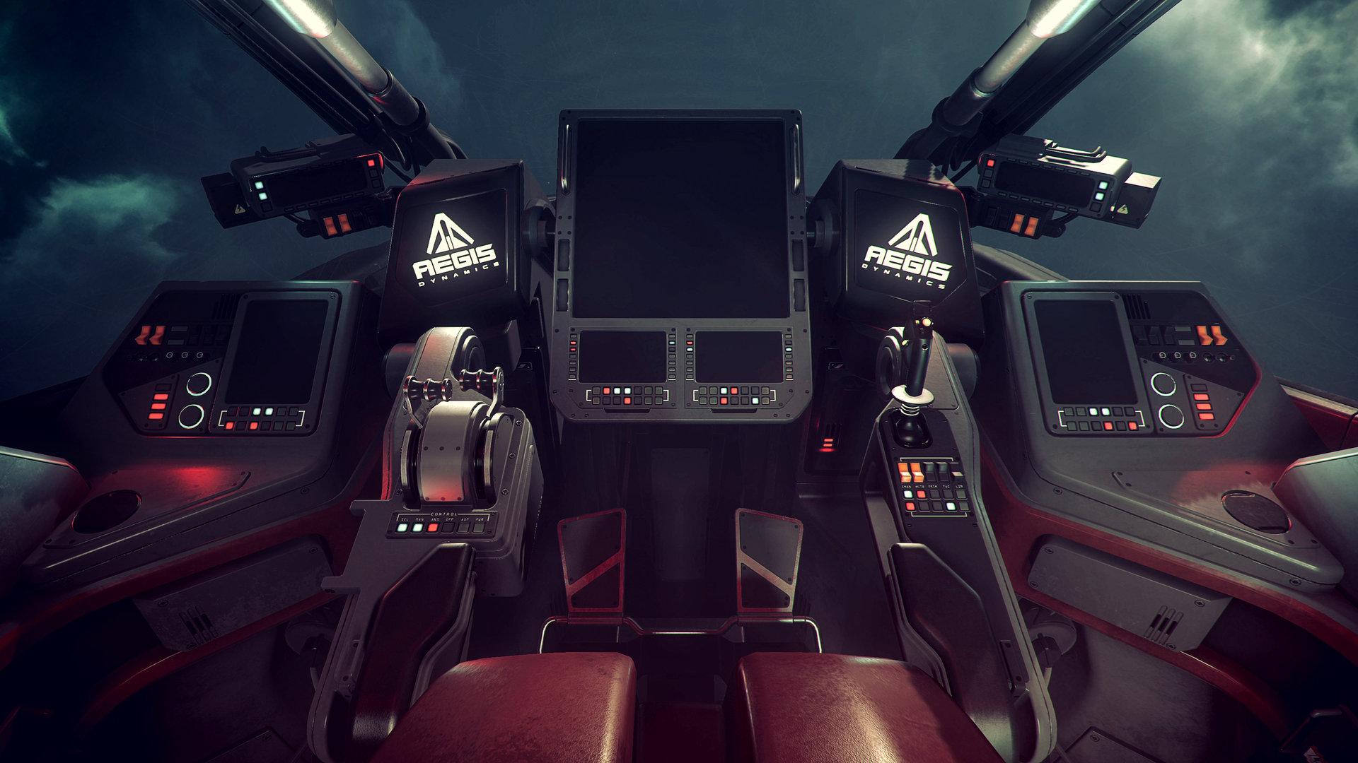 Nathan dearsley retaliator cockpit
