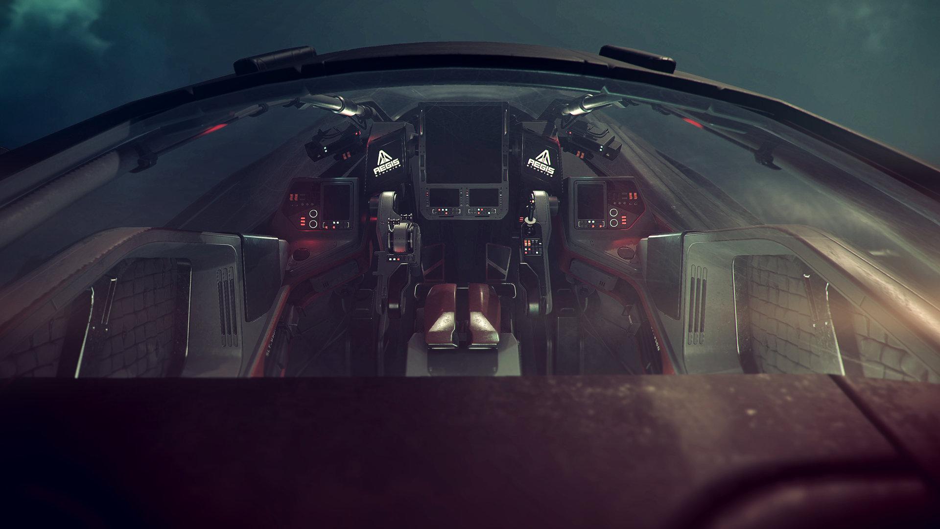 Nathan dearsley retaliator cockpit c