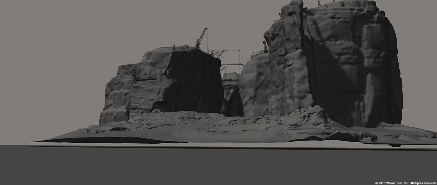 3d asset - base of the painting