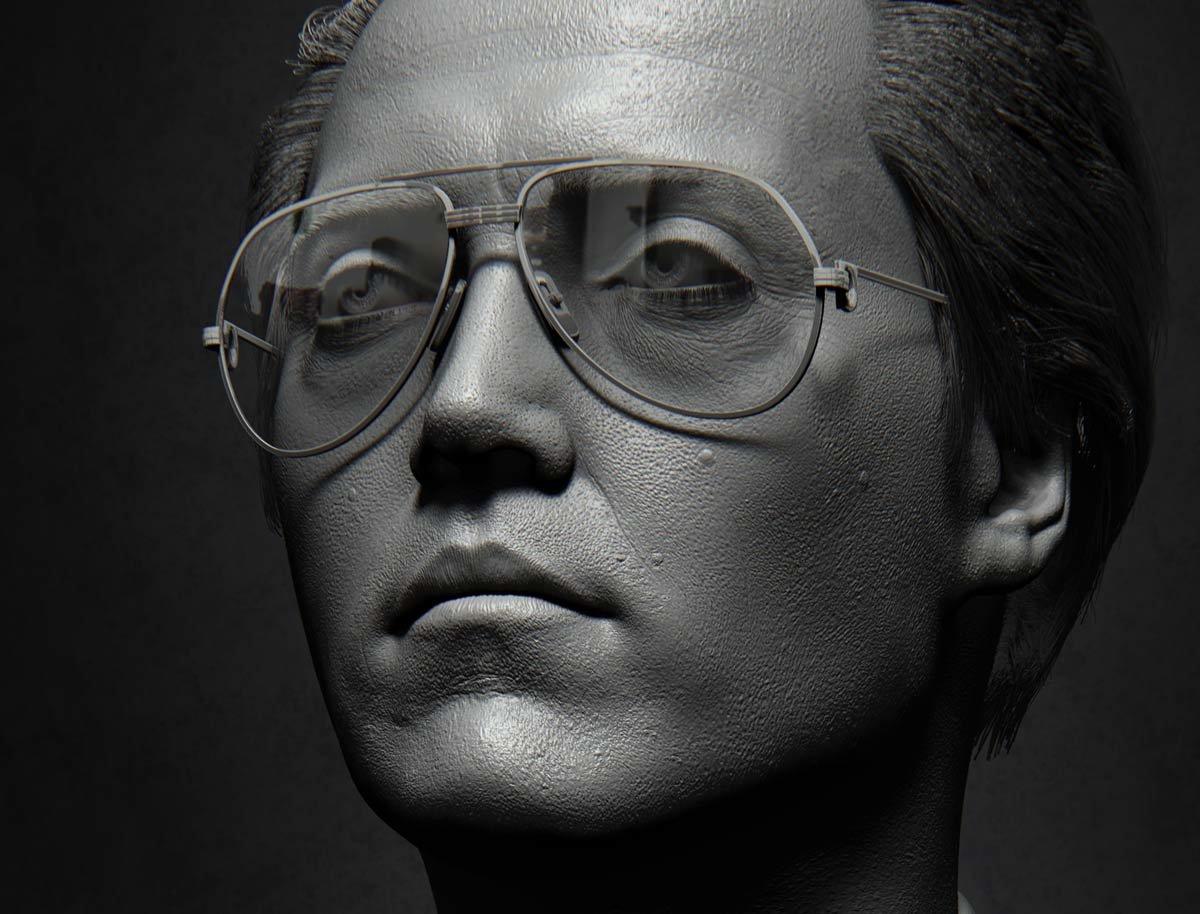 Max Zorin Portrait