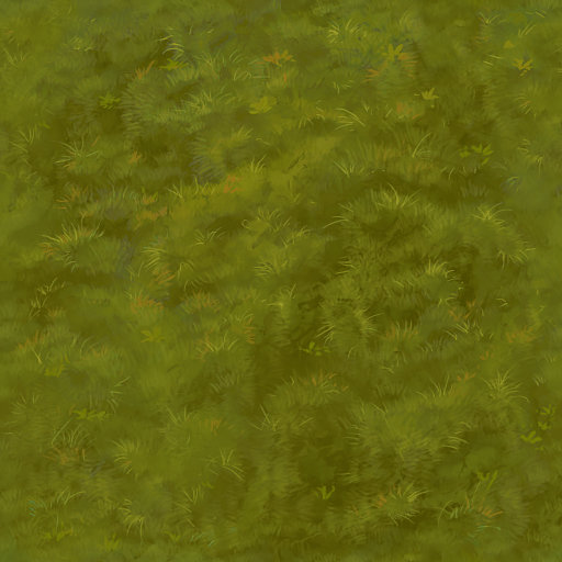 Hand Painted Moss Texture