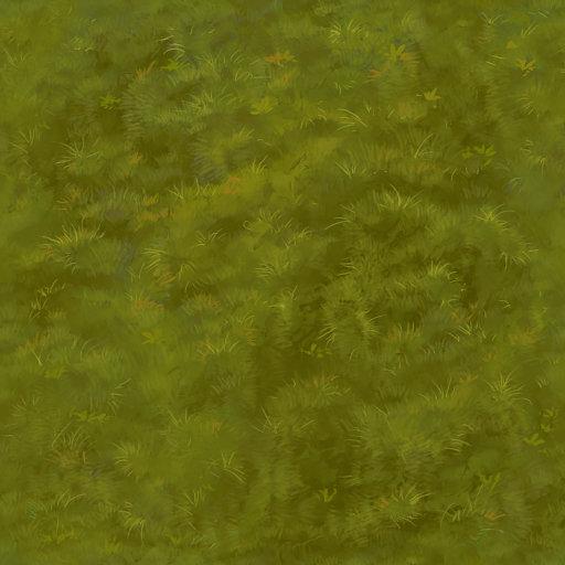 Hand Paint Moss Texture