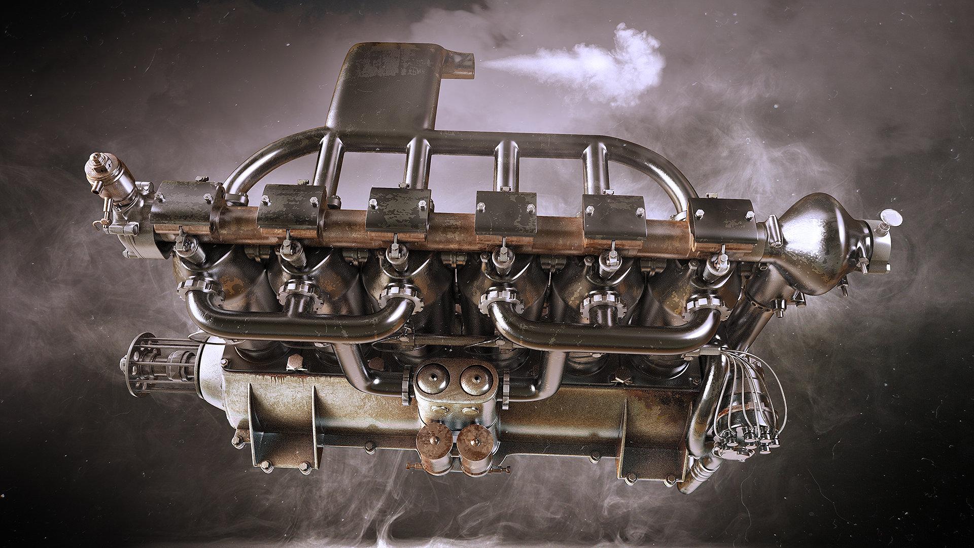 Alexandr novitskiy mercedes diii engine 02