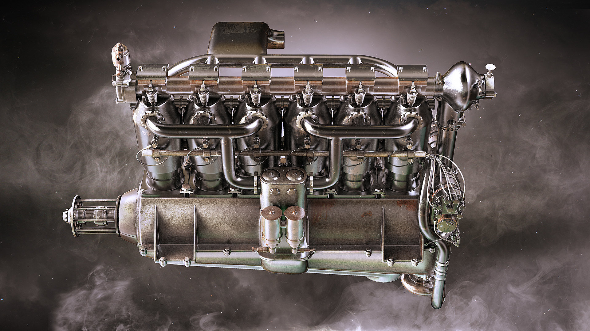 Alexandr novitskiy mercedes diii engine 04