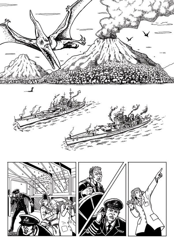 John ciarfuglia page3 ink art