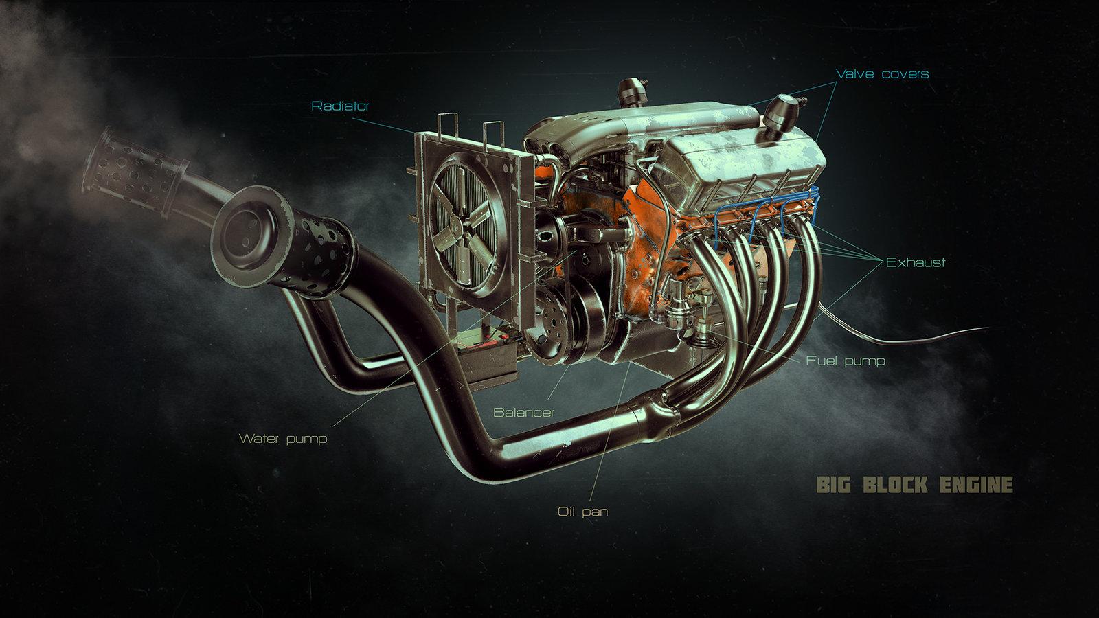 Big Block Engine
