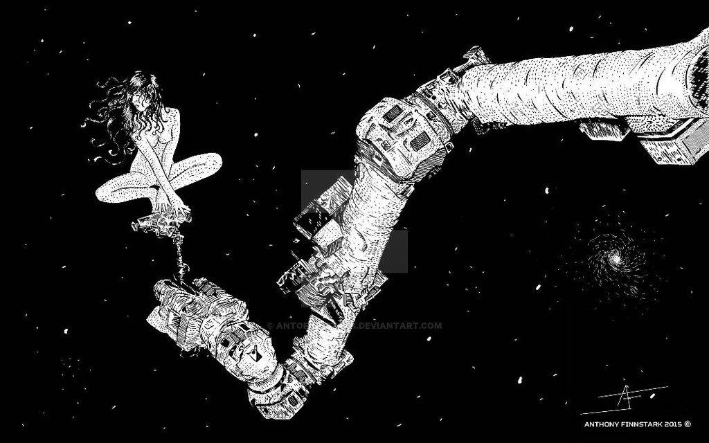 Anto finnstark somewhere in space 3 by antofinnstark d8zvvck