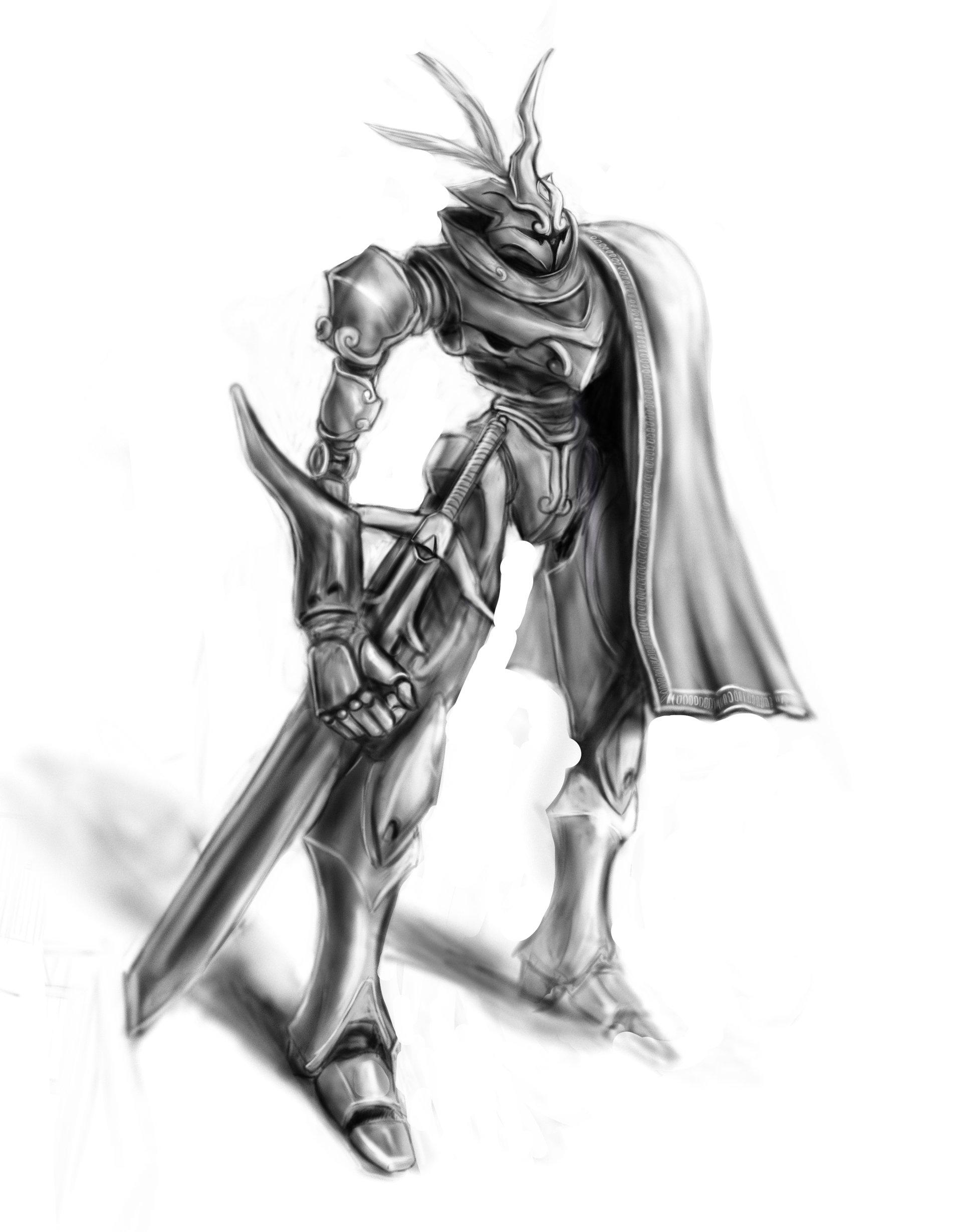 Luis santander mech sketch
