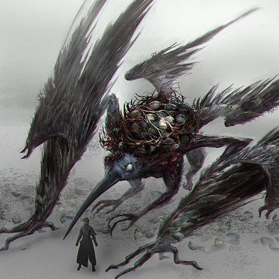 Eugenia vorontsova raven master by eugenia vorontsova2