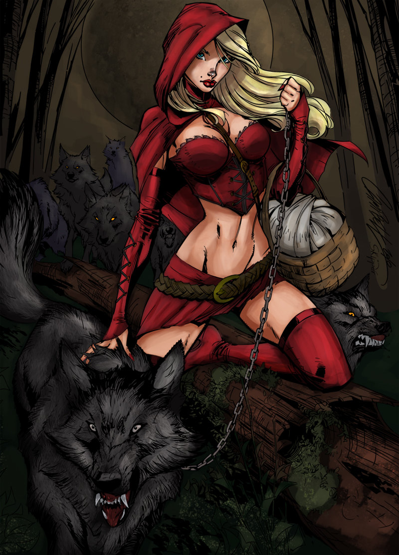 красная шапочка и серый волк порно комикс № 654916  скачать