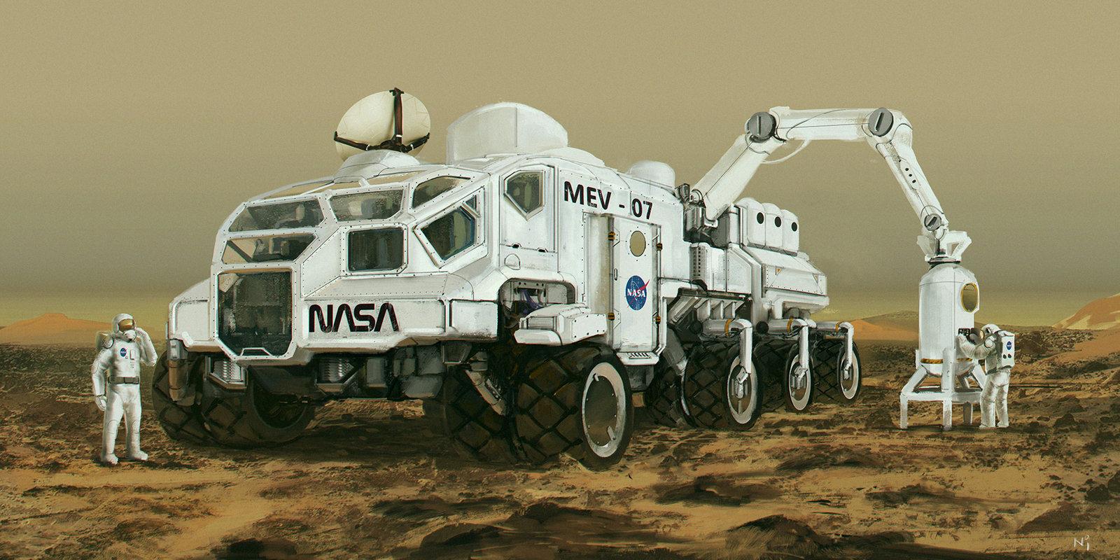 Mars Exploring Vehicle