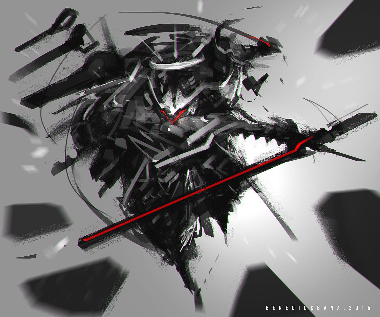Benedick bana gear blade lores