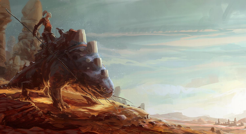Domen kozelj desert rider paint