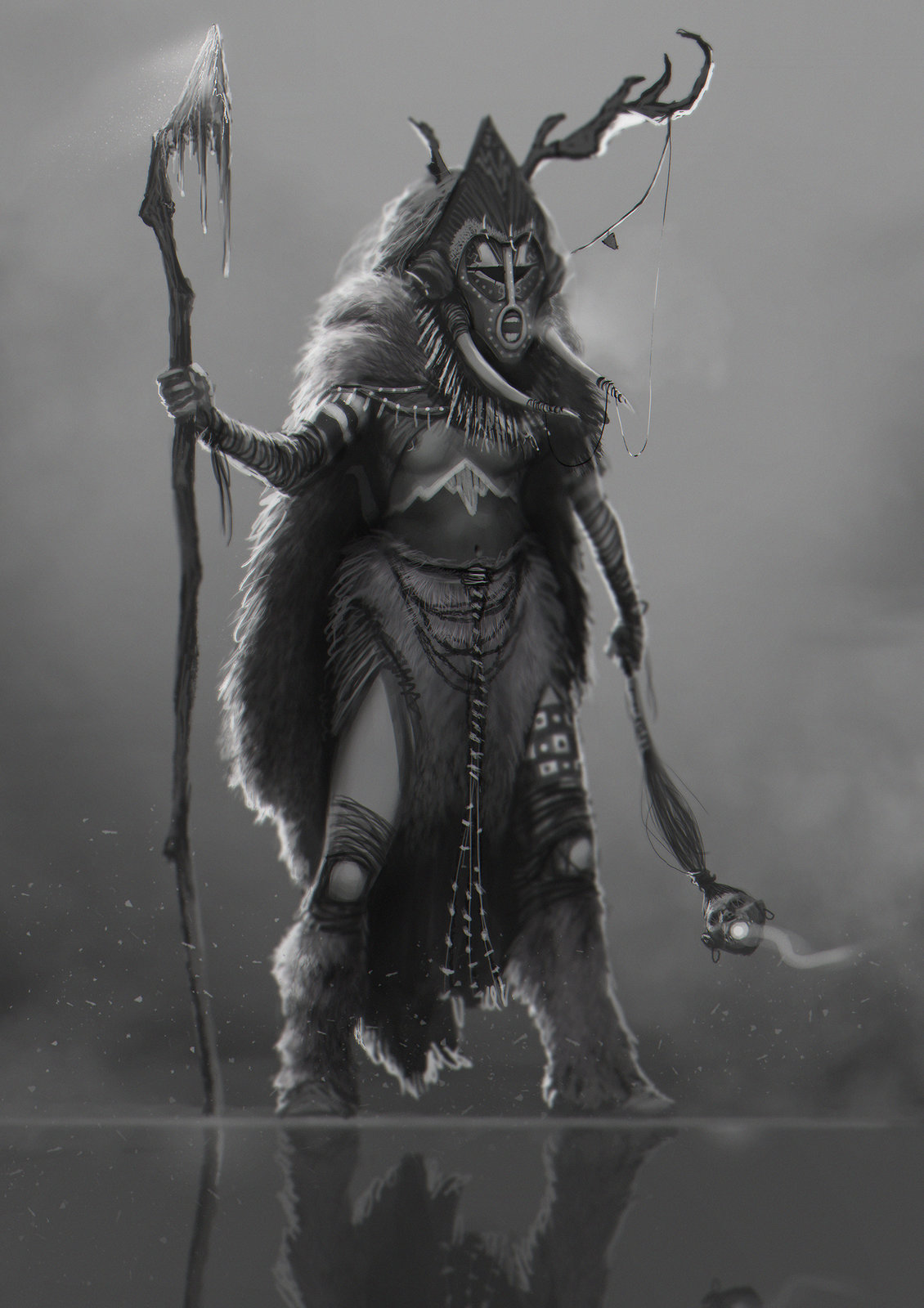 Character design: Mountain Shaman