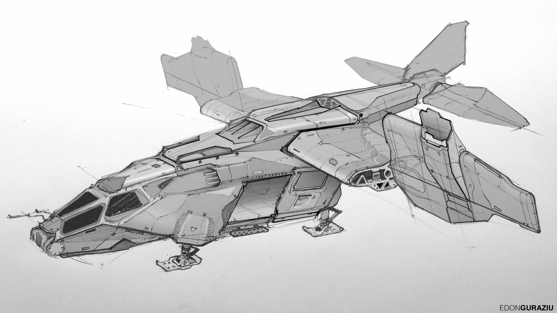 Edon guraziu dropship sketch