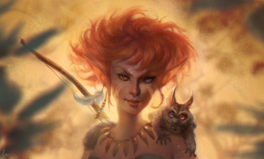 Caroline gariba elf iconic