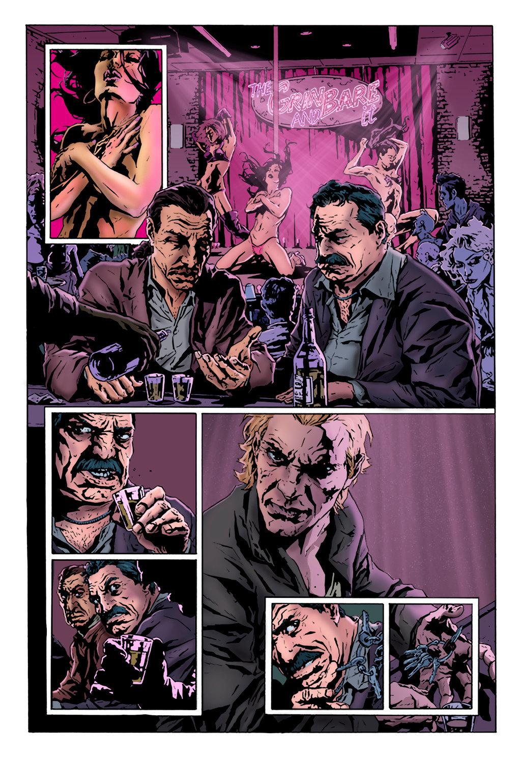 Matt james the joker graphic novel page by mattjamescomicarts d8wfcdj
