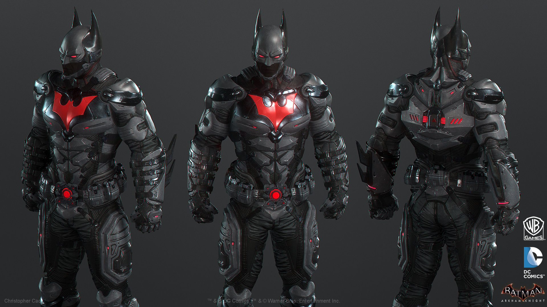 Image result for batman beyond arkham knight
