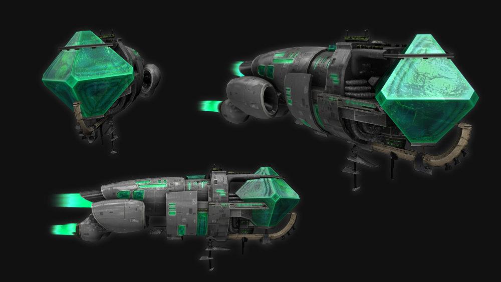 Dis studio crystal battleship 00
