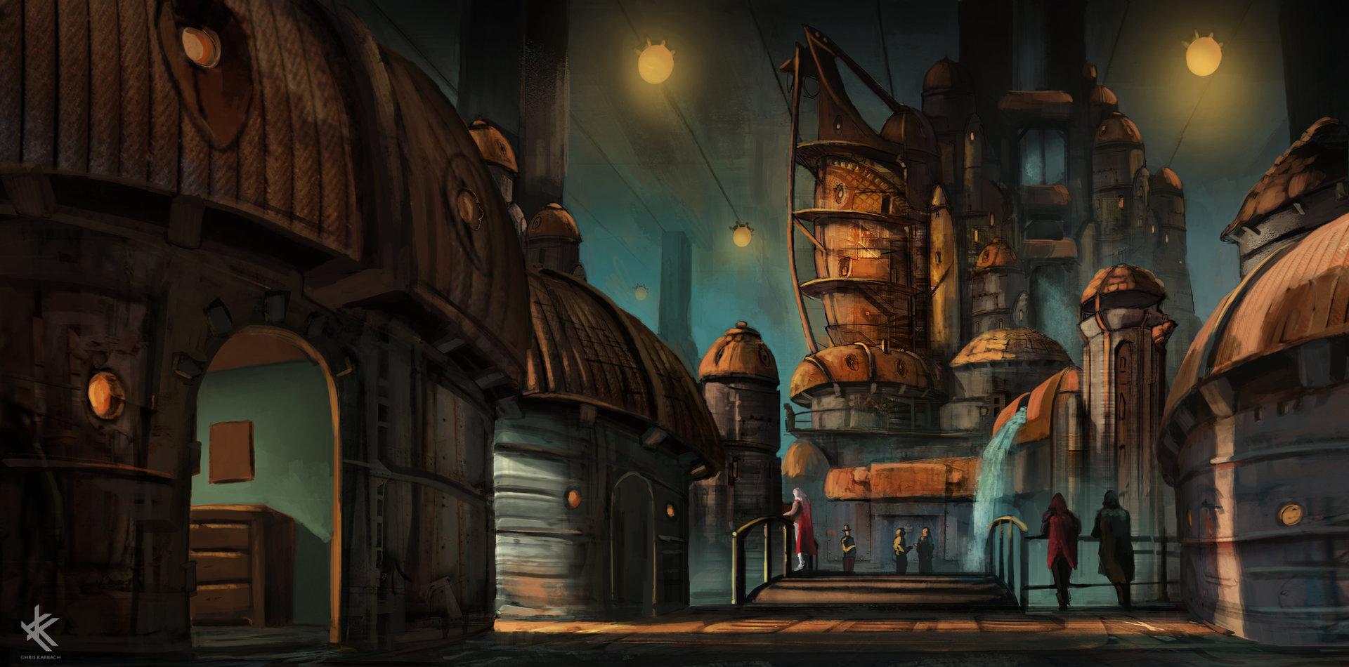 Chris Karbach - Concept Artist - Postapocalypse ...