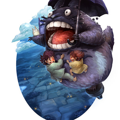 Dustin lincoln totoro small