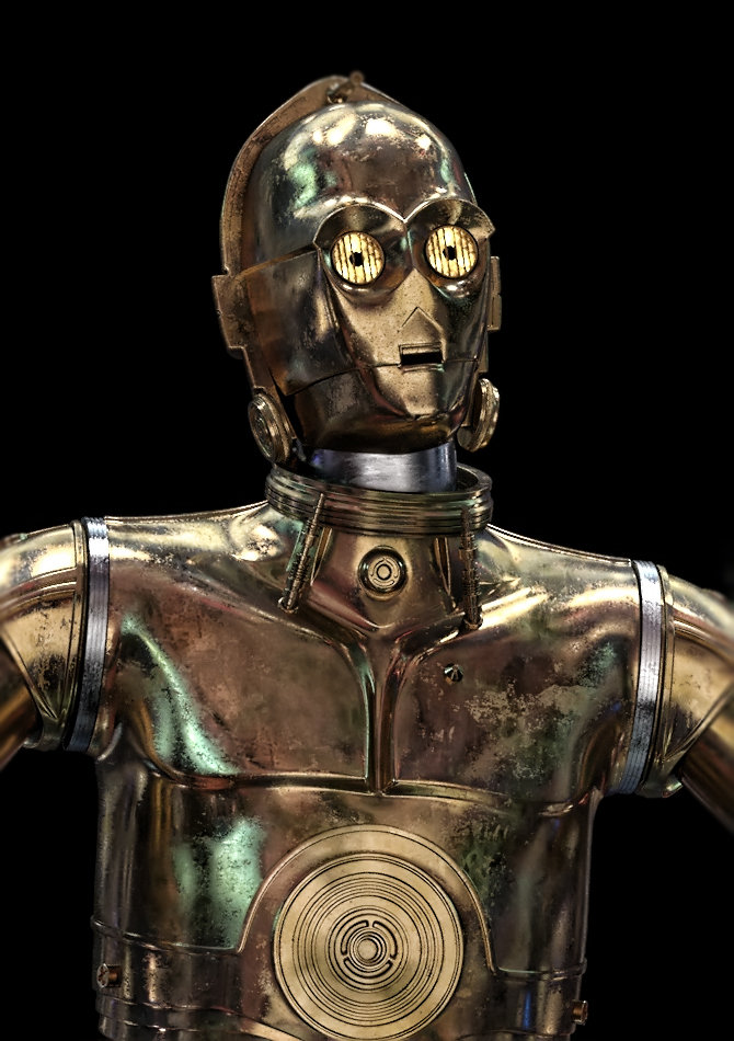 Paul johnson 3po shader update
