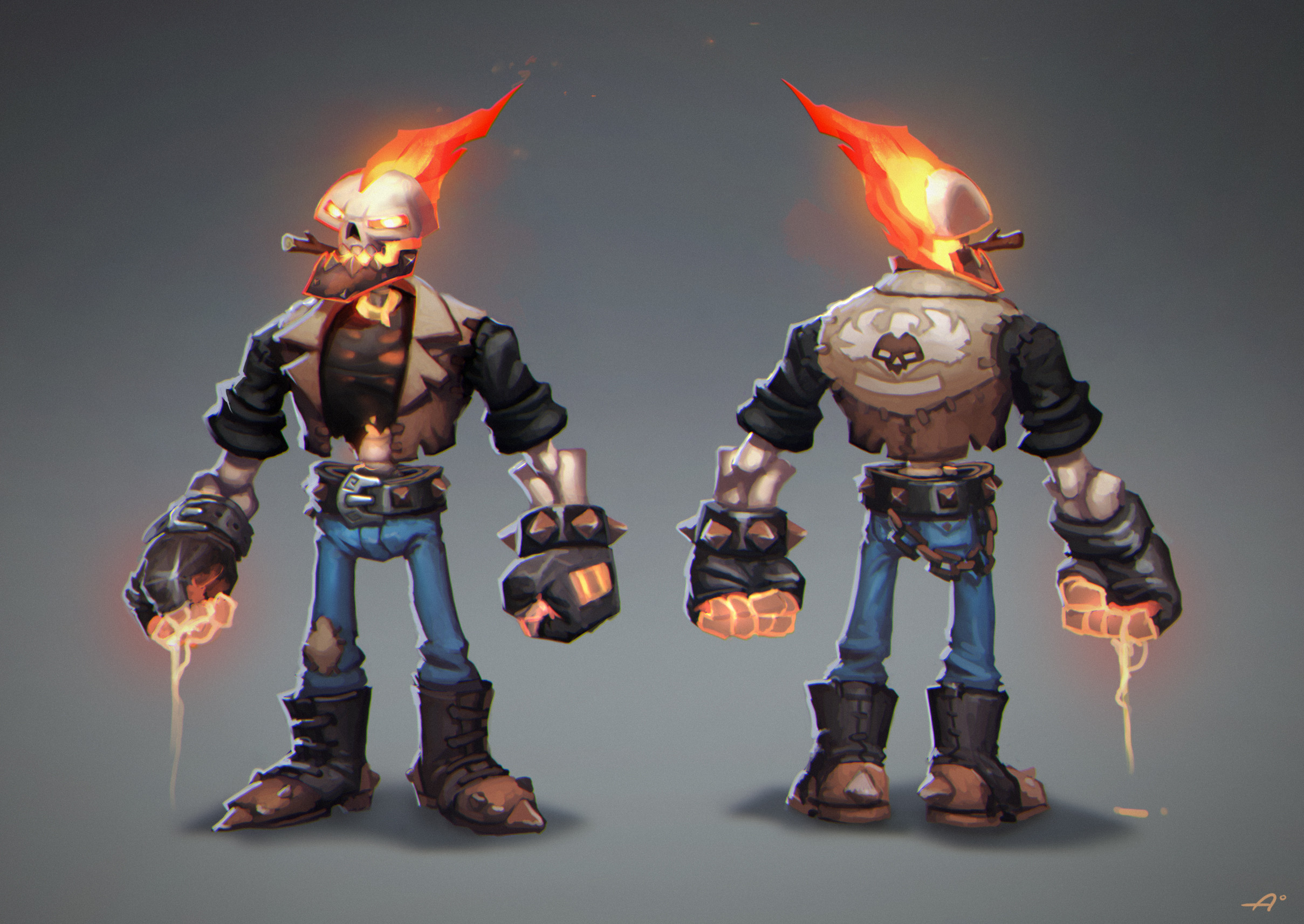 Candidate character for the prototype