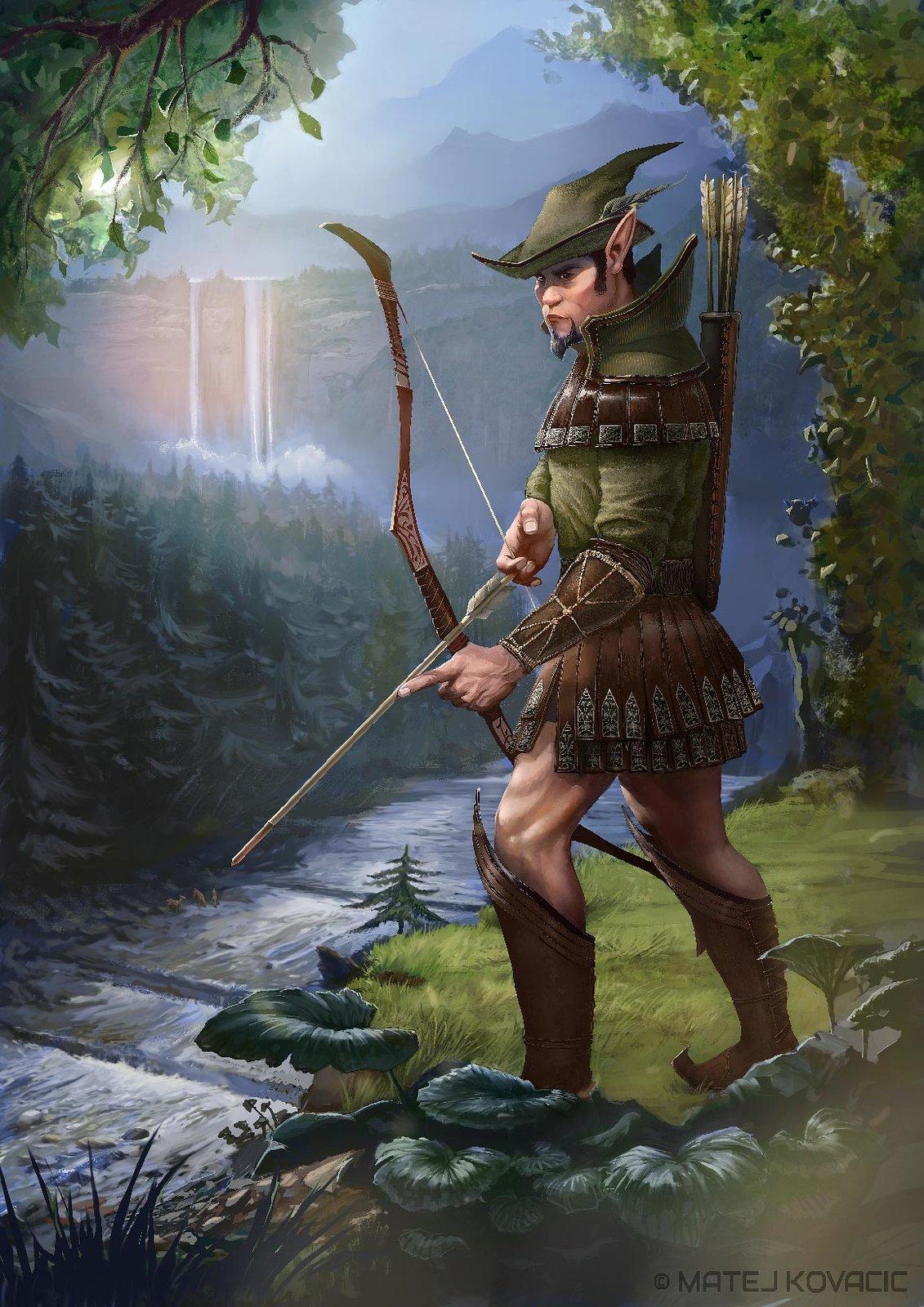 Elf the Deer Hunter
