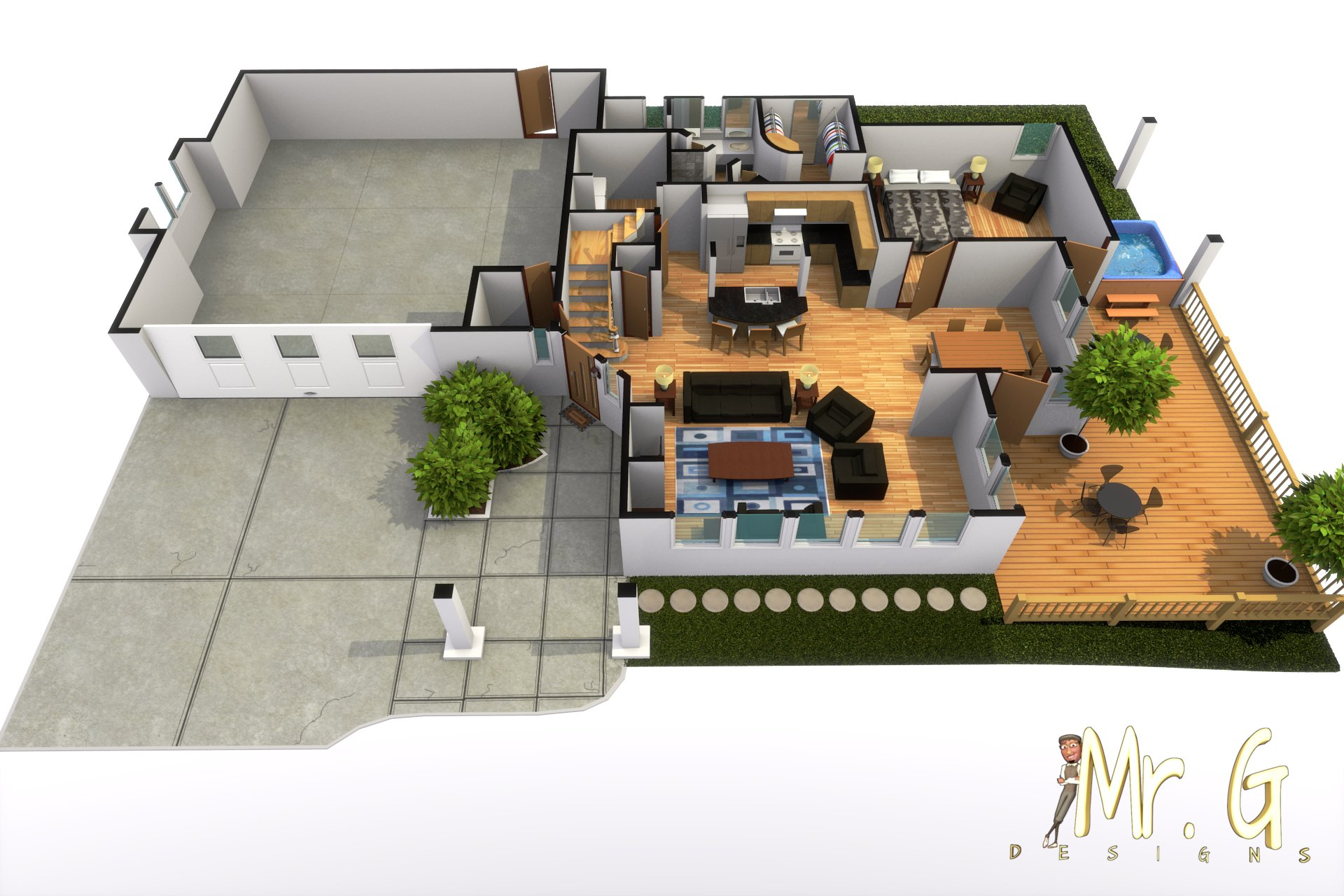 Garrett s modern house 003 final2