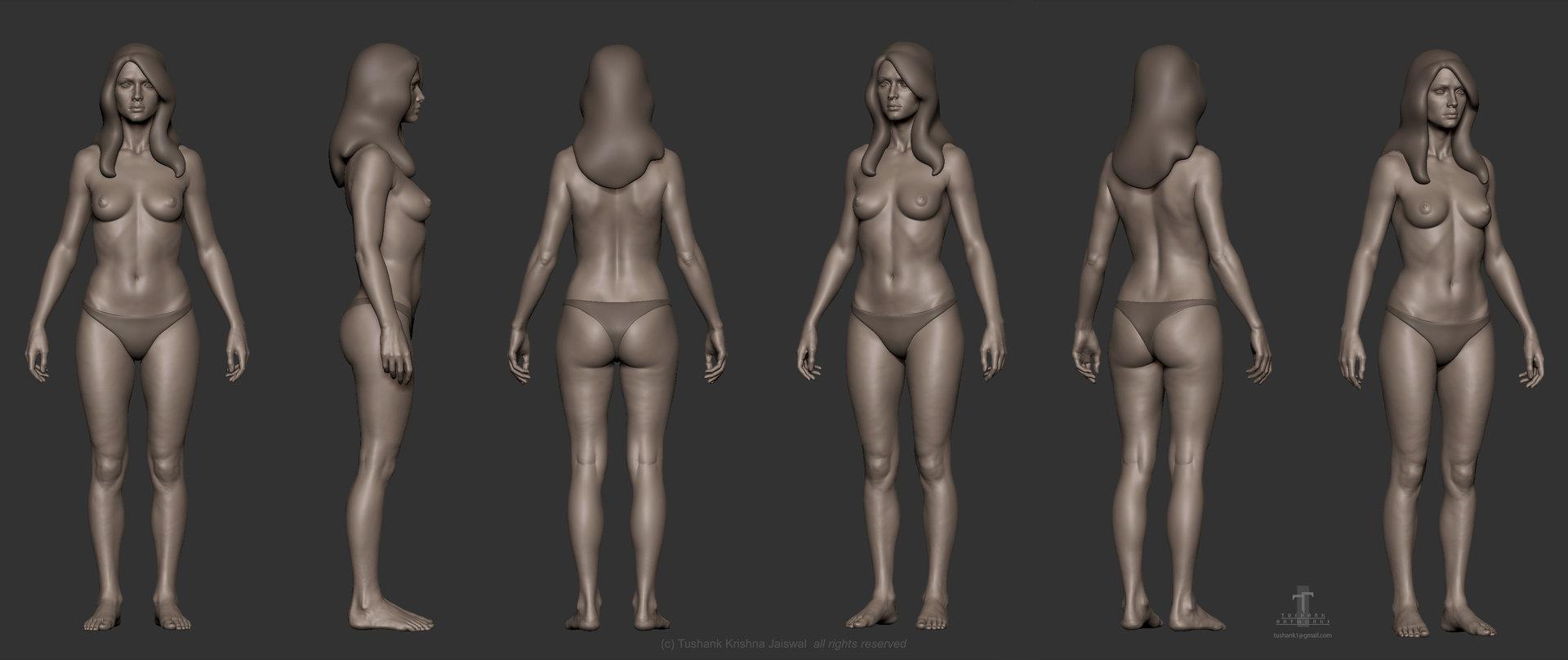 Tushank k jaiswal anatomy study female 2a