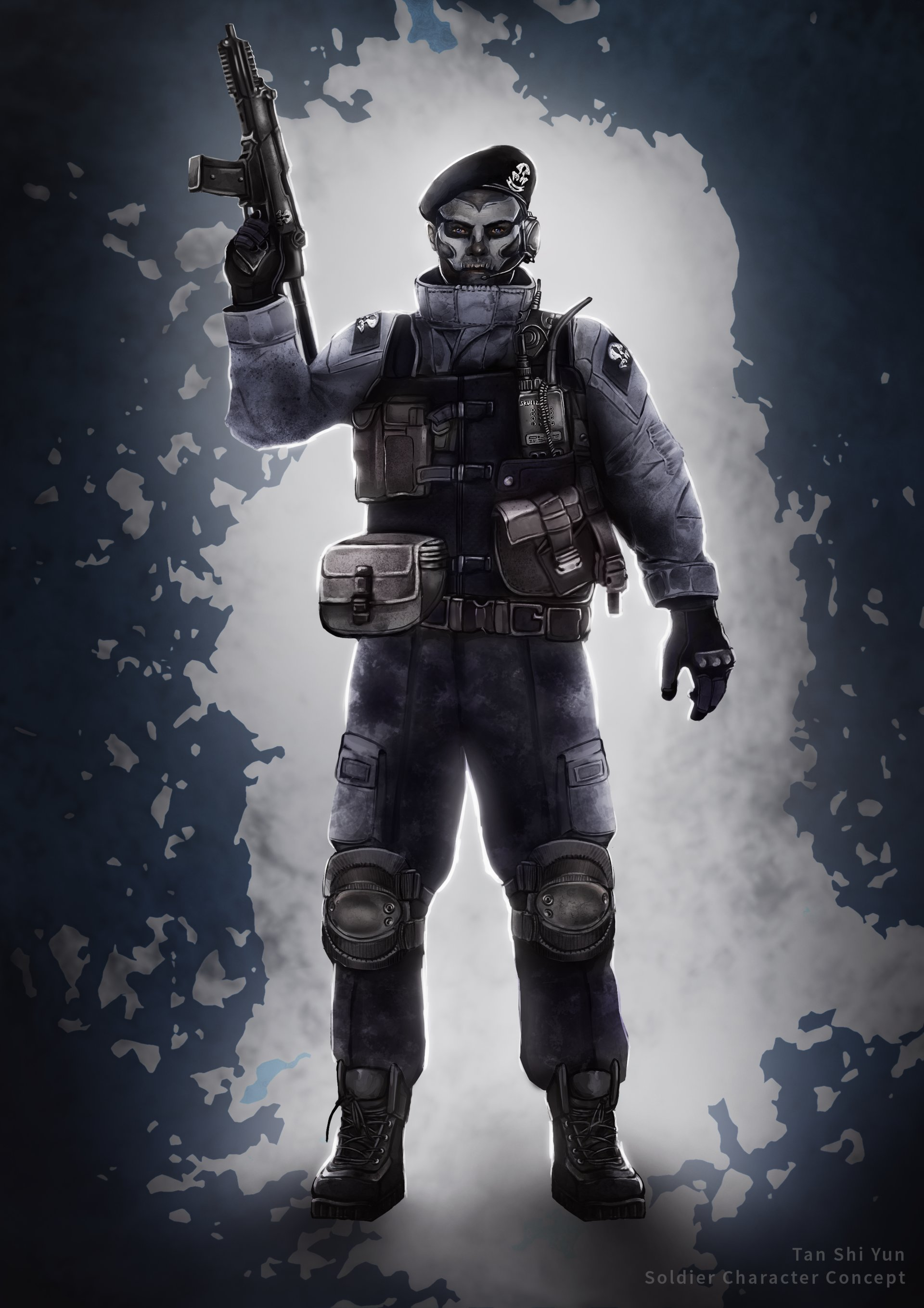 Tan shi yun cod ghost soldier spinoff tan shi yun soldier done sciox Image collections